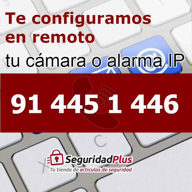 ¿Sabes configurar tu cámara o alarma IP?